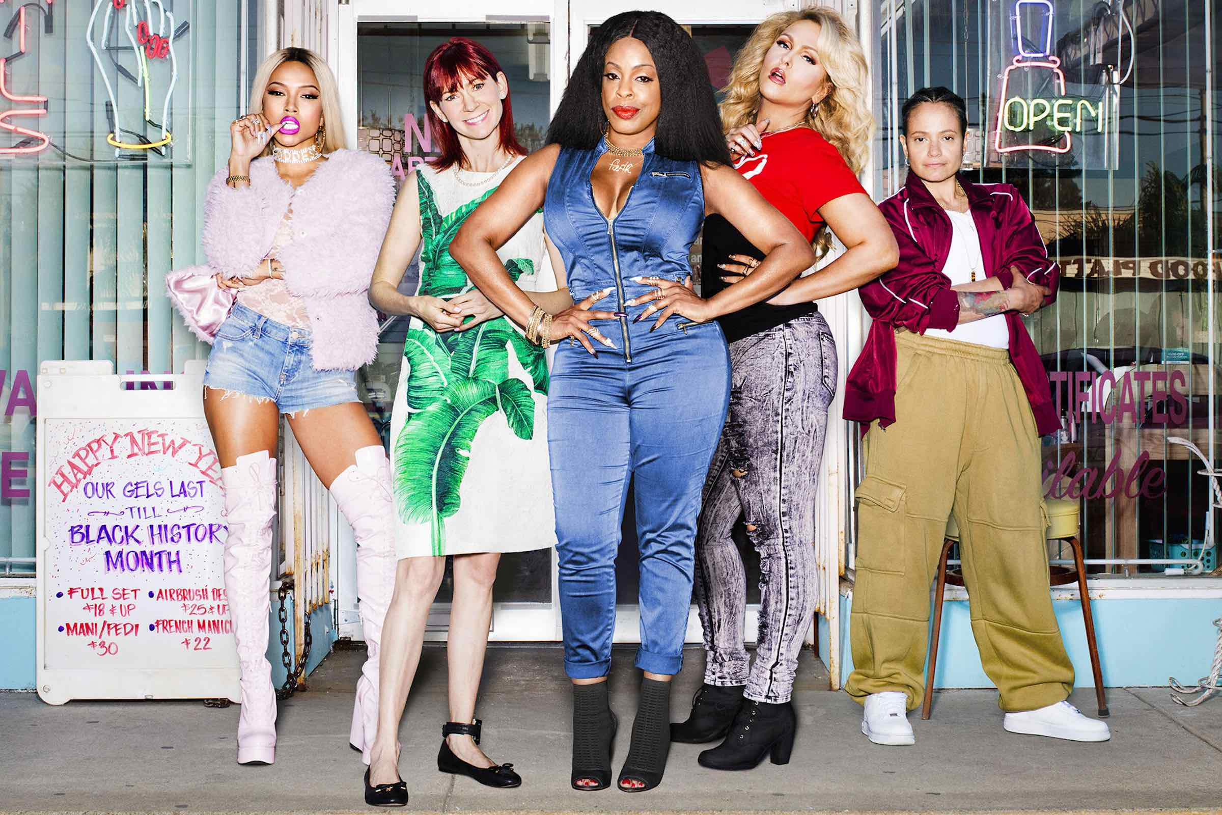 Your appointment at the nail salon has been booked! Season three of TNT's gloriously garish crime drama 'Claws' is set to drop on June 9.