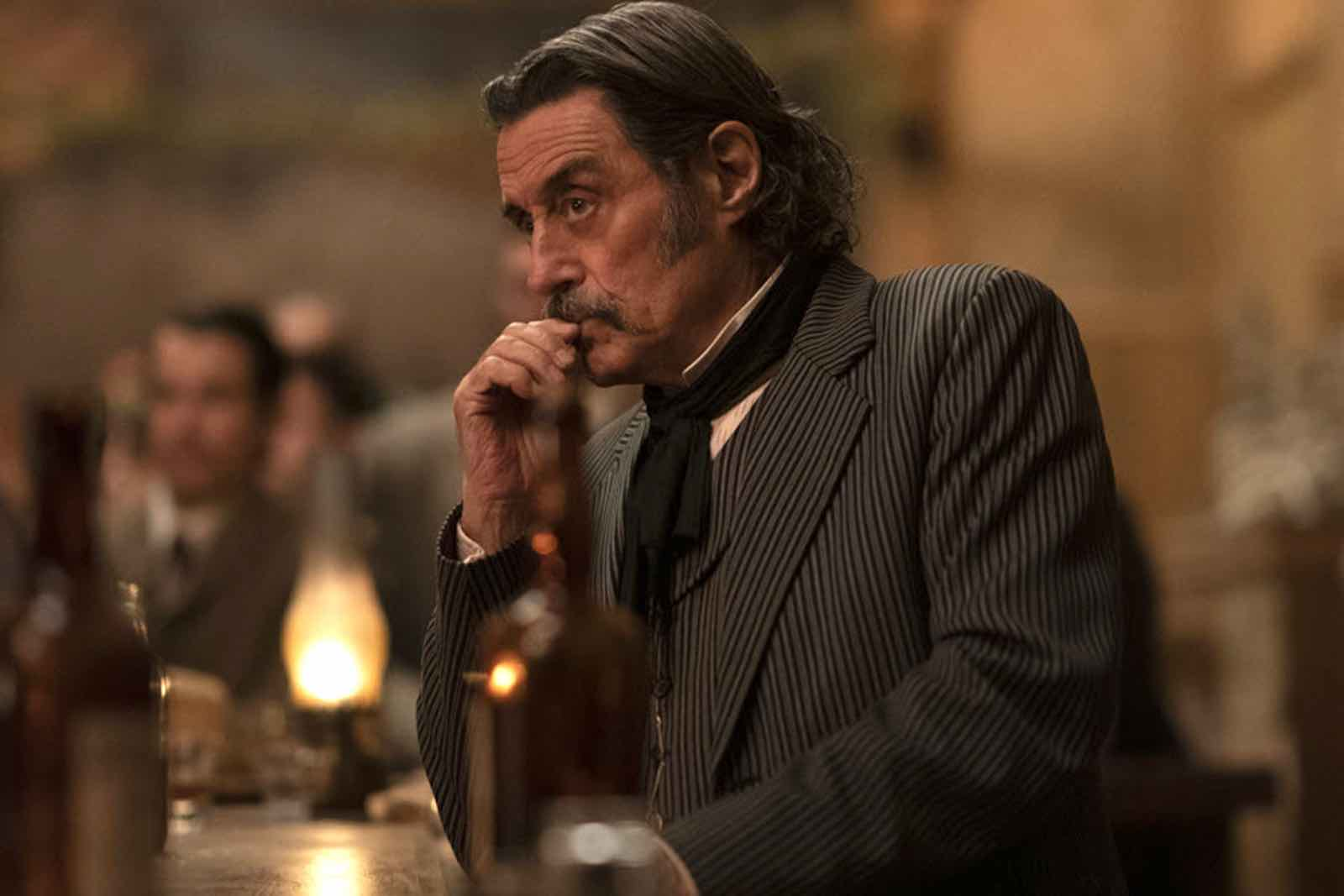 After years of rumors and speculation, HBO has finally dropped the trailer for the 'Deadwood' movie premiering later this month.
