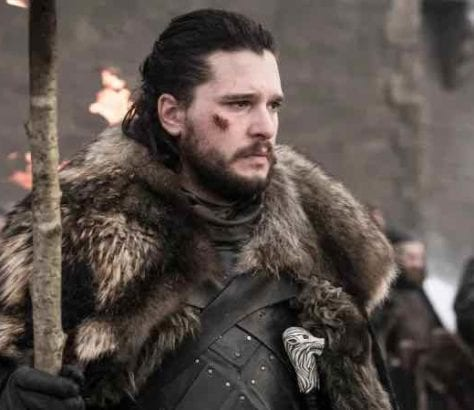 Even though Team Winterfell managed to defeat the army of the undead, in 'Game of Thrones' S8E4 long faces mourn the dead.
