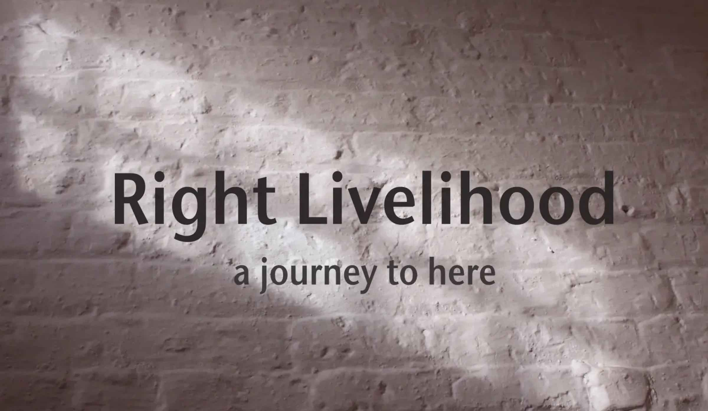 Our indie filmmaker of the day is Tricia Brouk. Her documentary short 'Right Livelihood: A Journey to Here' debuts in LA June 20th - 27th, 2019.