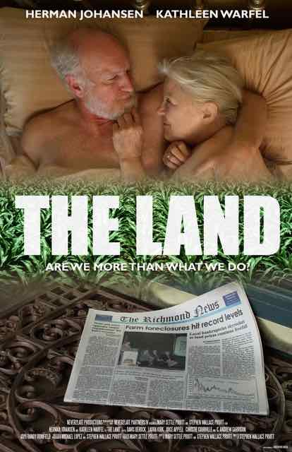 Today our indie movie of the day is 'The Land', which is premiering at the world-famous film festival Dances with Films on Monday.