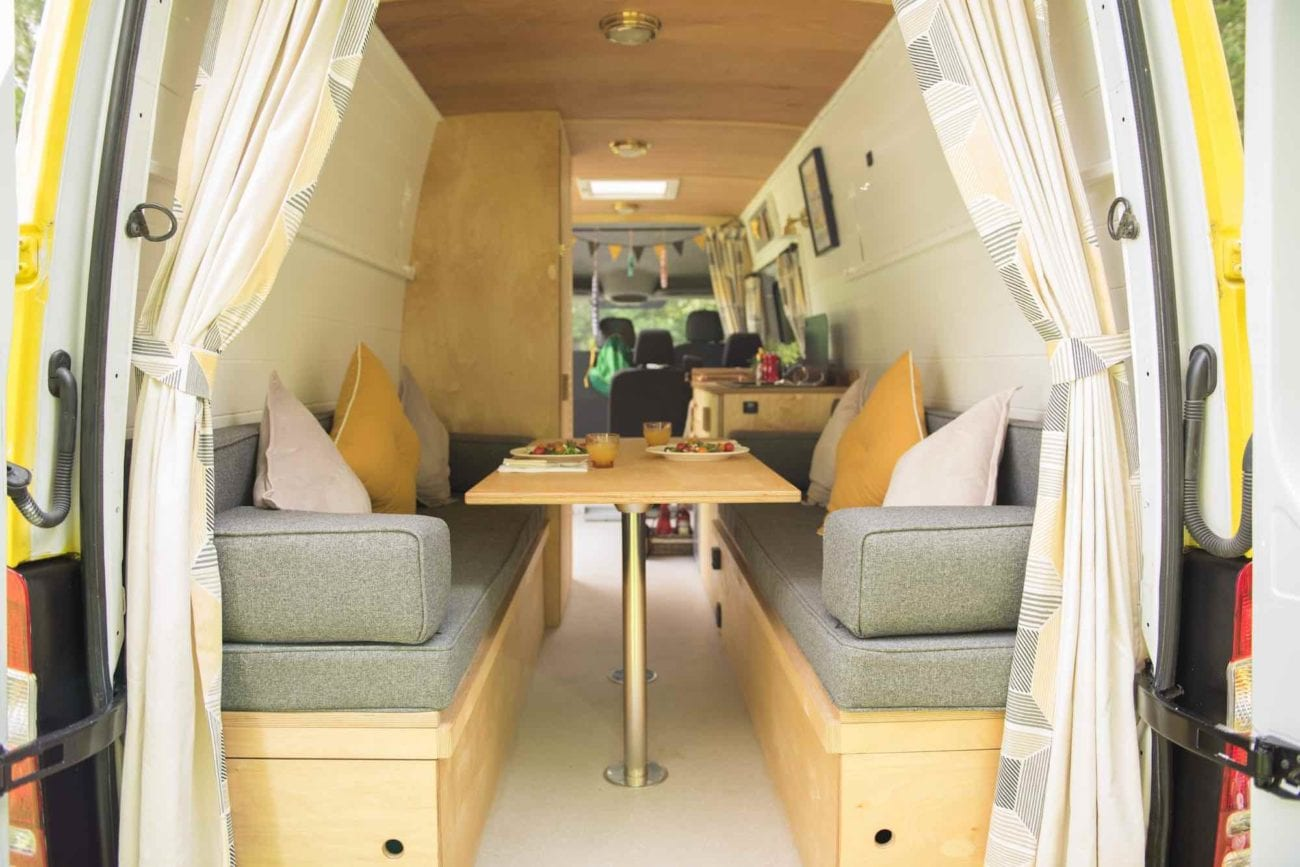 We take a look at adventurous campers who've gone above and beyond pimping their vans and created travelling homes that stay within legal boundaries.