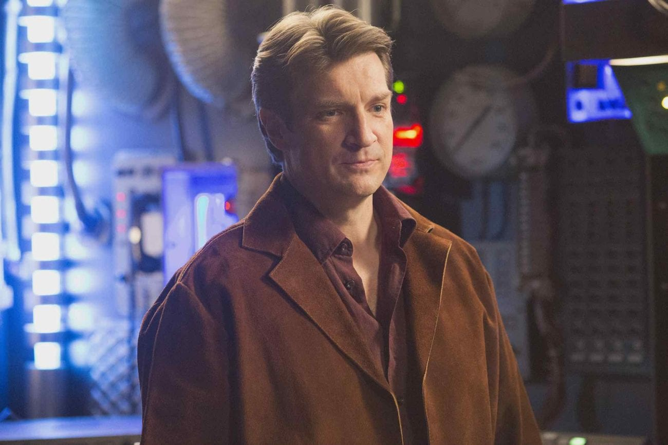 King of the nerds Nathan Fillion has joined many different franchises over the years. Let's go over the franchises Nathan Fillion would kill in.