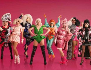 For the second-most dramatic entrance of a queen ever captured on film, see 'RuPaul's Drag Race UK', because the queens have arrived!