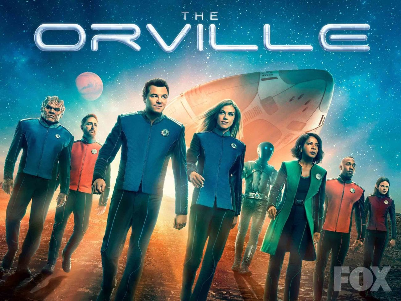 Fox's 'The Orville' has found its niche in awkward. Let's take a look back at the first 2 seasons and hope that our relationships are easier than these.