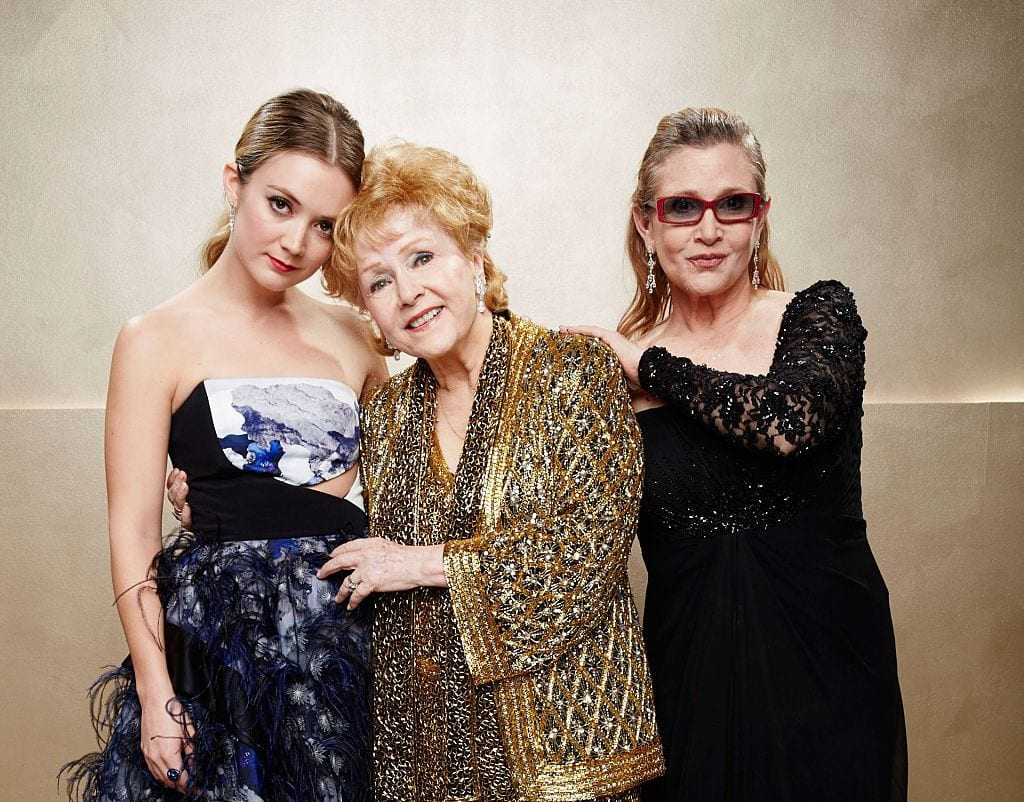 There have been a number of dynasties throughout history that have stood the test of time. Here's the greatest: the Reynolds/Fisher/Lourd dynasty.