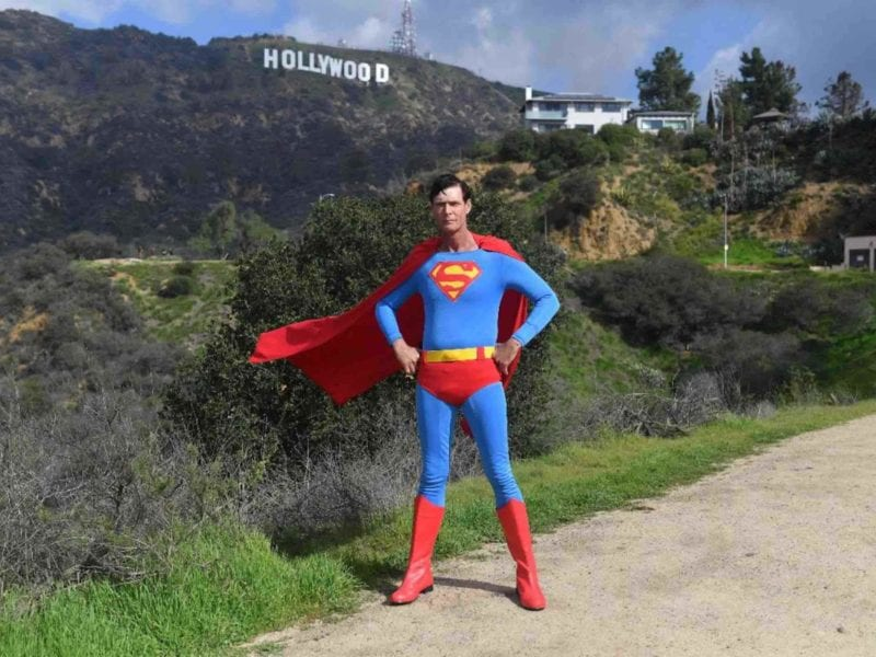 A crowdfunding campaign is raising funds for a memorial plaque at Hollywood Forever Cemetery for famed Hollywood Superman, Christopher Dennis.