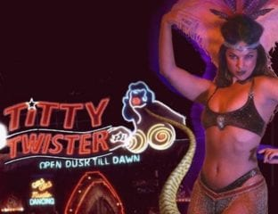 Acrobats, lounge singers, burlesque performers & snake dancers transform Club Bahia into the iconic bar in 'From Dusk till Dawn'. Tarantina is back!