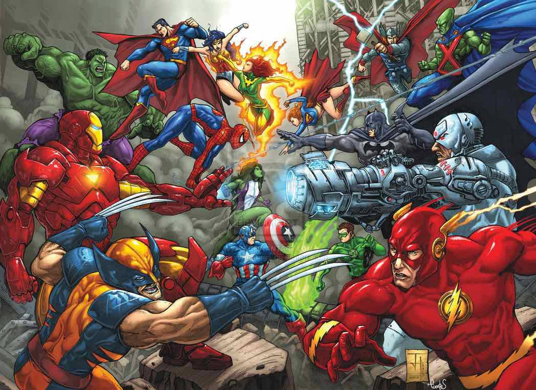 Answer the age-old question superhero movie fans have been debating for years. Who is the undisputed king of superhero film & TV content, DC or Marvel?