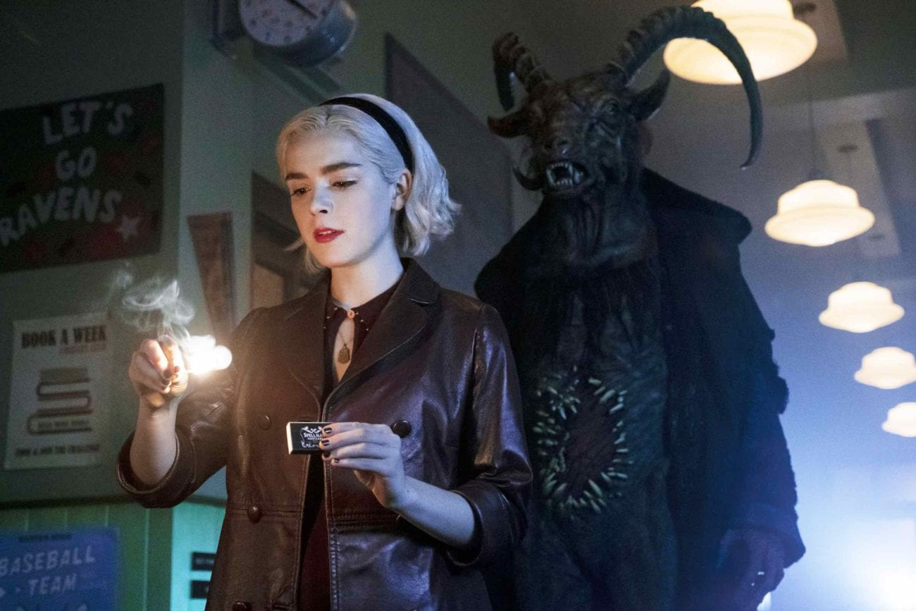Not today, Satan. Wickedly macabre and spooky as hell, 'Chilling Adventures of Sabrina' is returning in January. Here's our rough guide to CAOS.