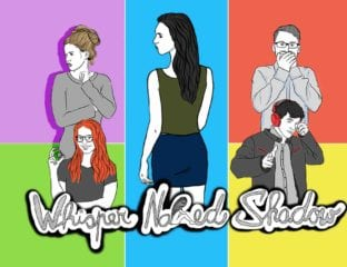 Anna Lucie Schollerova stars in indie webseries 'Whisper Naked Shadow', dealing with self-doubt, personal courage, self-awareness, and racism.