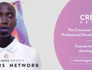 Conscious Good is one of the largest communities of creatives committed to raising consciousness. Find out more about their initiative here.
