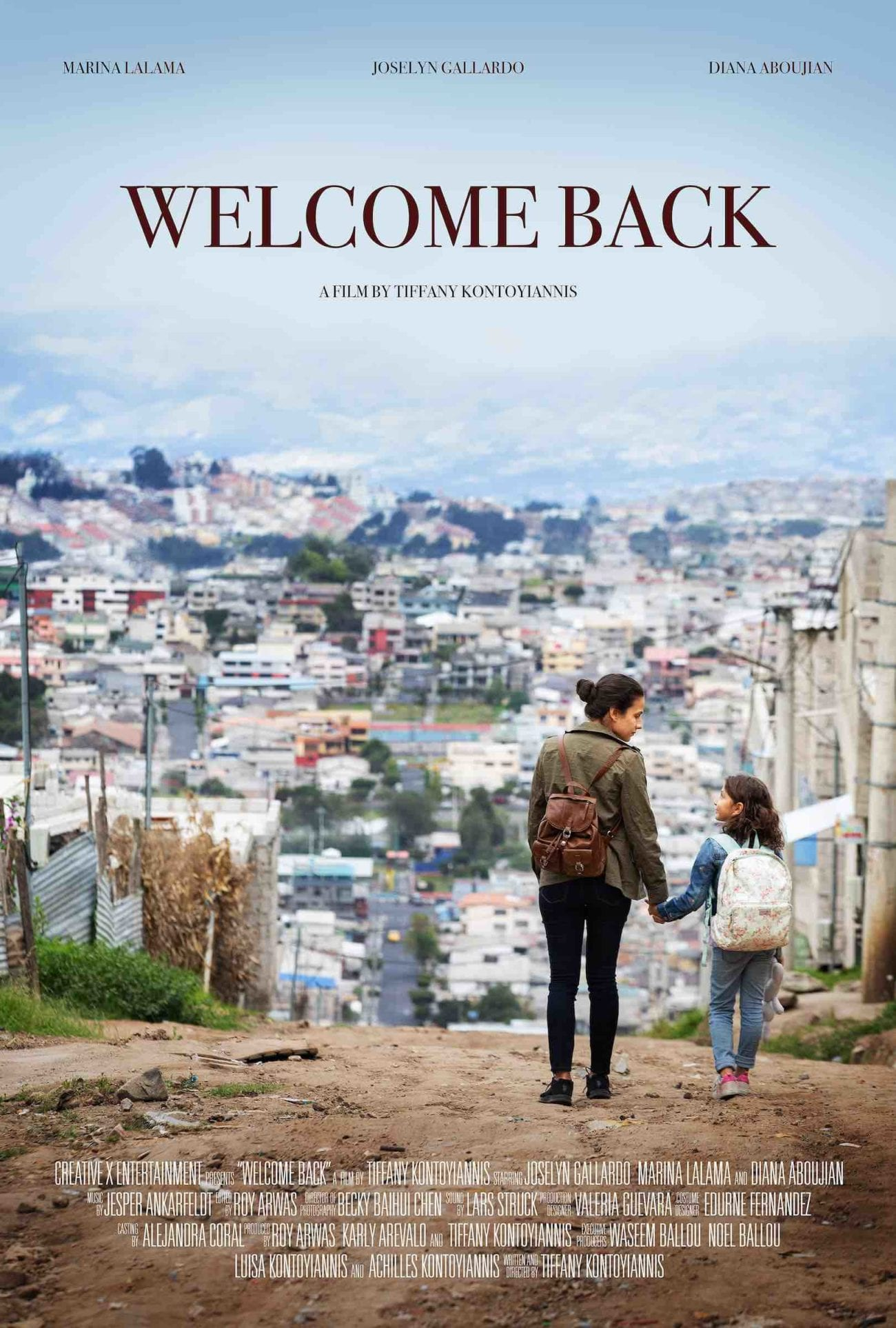 Tiffany Kontoyiannias is a Latina filmmaker who recently wrote and directed short film 'Welcome Back'. Here's our interview with Tiffany.