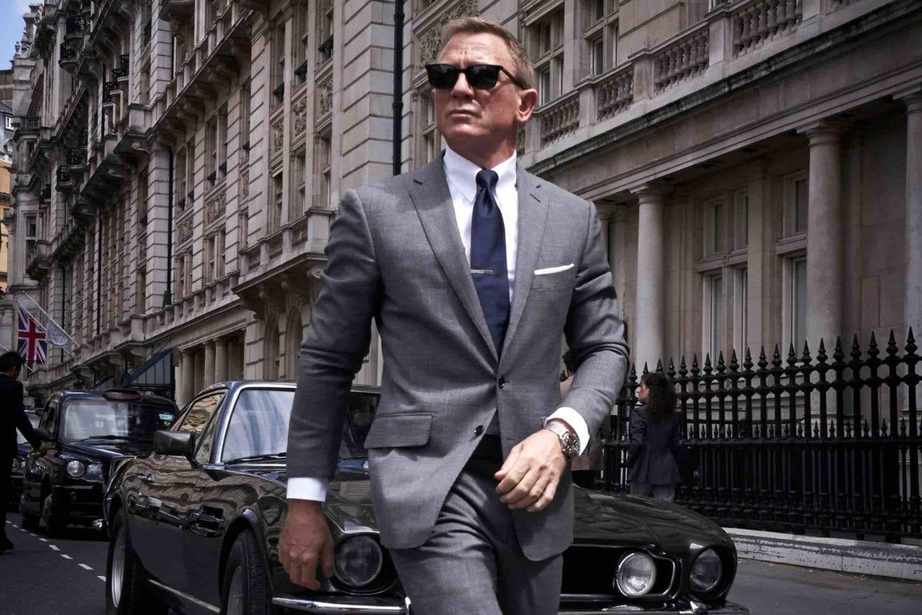 'No Time to Die' will be the fifth time that Daniel Craig will reprise his role as the iconic Agent 007 and maybe his final one. Let's take a look.
