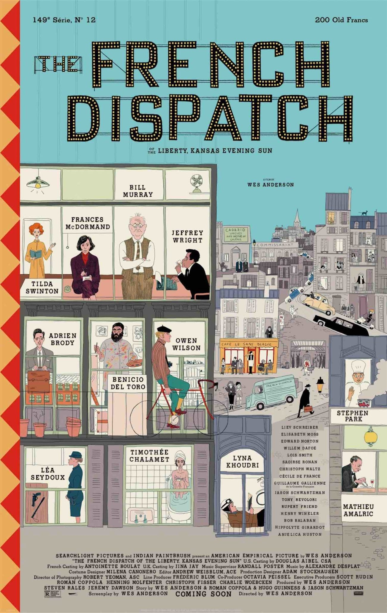Wes Anderson may have outdone himself once again based on the first trailer for his new film, 'The French Dispatch'. Here's what we know.