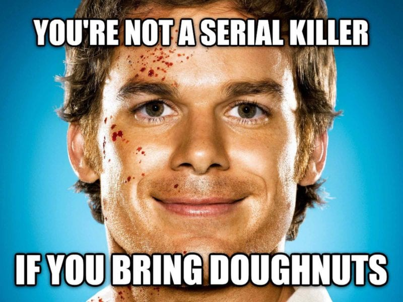 If you're one of the millions that enjoys true crime content, then your dark humor is much needed. Here's the craziest serial killer memes ever!